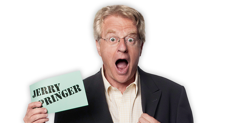 Jerry springer talkshow naked rumble not see