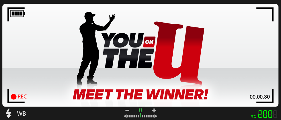 Introducing our You on The U WINNER!